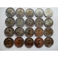 2009 Economic and Monetary Union 10 y. 20 pcs