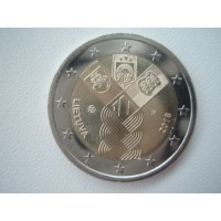2018-Lithuania	100 years since independence common commemorative coin with Estonia and Latvia