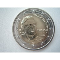 2018- Germany	100 years since the birth of Helmut Schmidt J