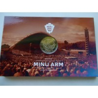 2019-Estonia   150th anniversary of the first Estonian Song Festival (coin card)
