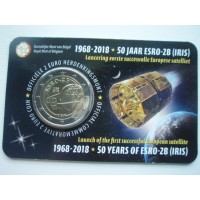 2018-Belgium   	50 years since the launch of European satellite ESRO 2B
