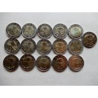 2009 Economic and Monetary Union 10 y. 16 pcs
