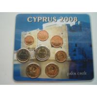 Küprose eurokomplekt 2008 coin expo 08