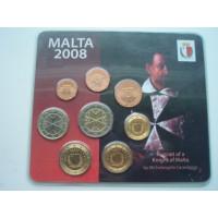 Malta eurokomplekt 2008 coin expo 08