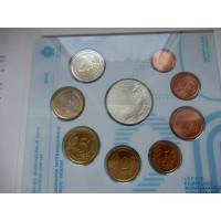 San Marino 2020 koos 5 eurose hõbemündiga