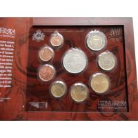 San Marino 2011 koos 5 eurose hõbemündiga