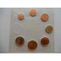 Luksemburgi 1,2,5,10,20,50 senti ja 1 euro 2008