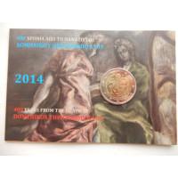 2014-Kreeka 400 a El Greco (mündikaart)