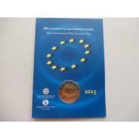 2015-Euroopa Lipu 30a.(EF)-Kreeka (mündikaart)