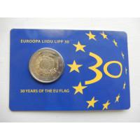 2015-Euroopa Lipu 30a.(EF)-Eesti (mündikaart)