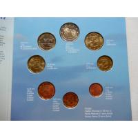 Soome eurokomplekt 2000 Originaalpakendis