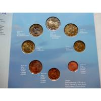Soome eurokomplekt 2001 Originaalpakendis