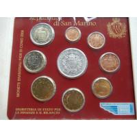 San Marino 2006 koos 5 eurose hõbemündiga