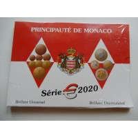 Monaco eurokomplekt 2020