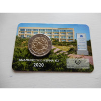 2020-Cyprus   The Cyprus Institute of Neurology and Genetics 30 (coin card)