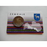 2018-Läti Zemgale (mündikaart)