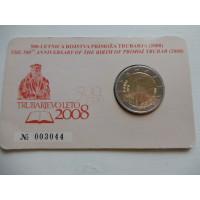 2008-Sloveenia Primoz Trubar (mündikaart)