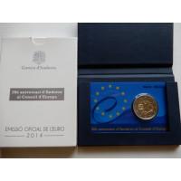 2014-Andorra 20 aastat Euroopa Nõukogus PROOF