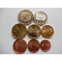 Andorra eurokomplekt 2019 (1 eurone on 2016)