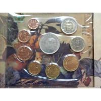 San Marino 2010 koos 5 eurose hõbemündiga