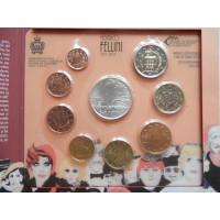 San Marino 2013 koos 5 eurose hõbemündiga
