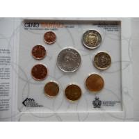 San Marino 2014 koos 5 eurose hõbemündiga