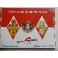 Monaco eurokomplekt 2002