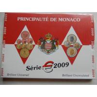 Monaco eurokomplekt 2009