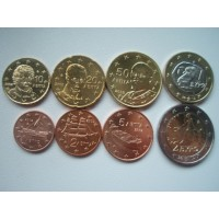 Kreeka eurokomplekt 2002 (tähtedega!)